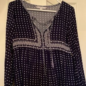 Navy tunic/coverup